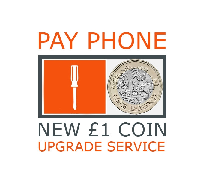 payphone upgrade - How the new £1 coin will affect your business