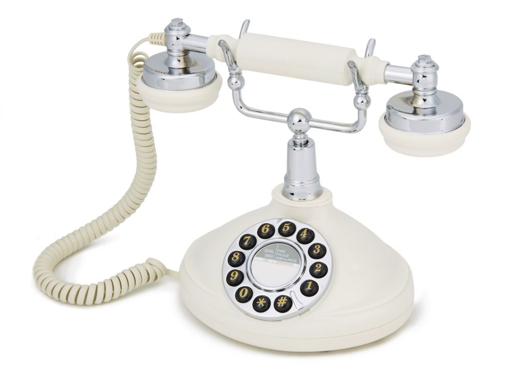 Retro phones for hotels