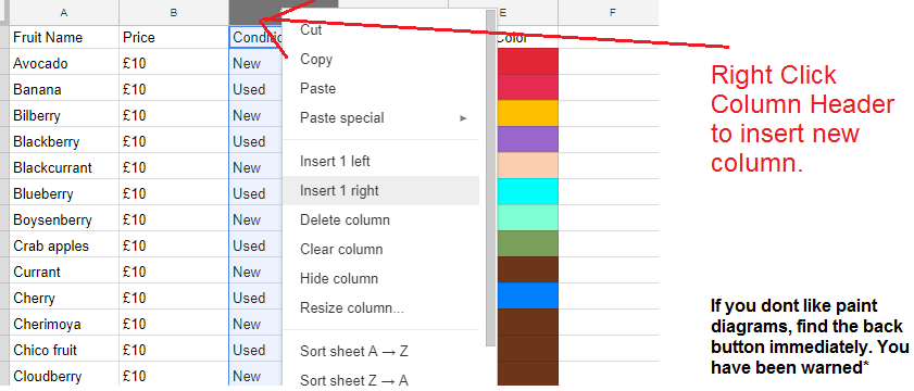 googlesheet howto - How To Add Multiple Rows Between Data in Google Sheets